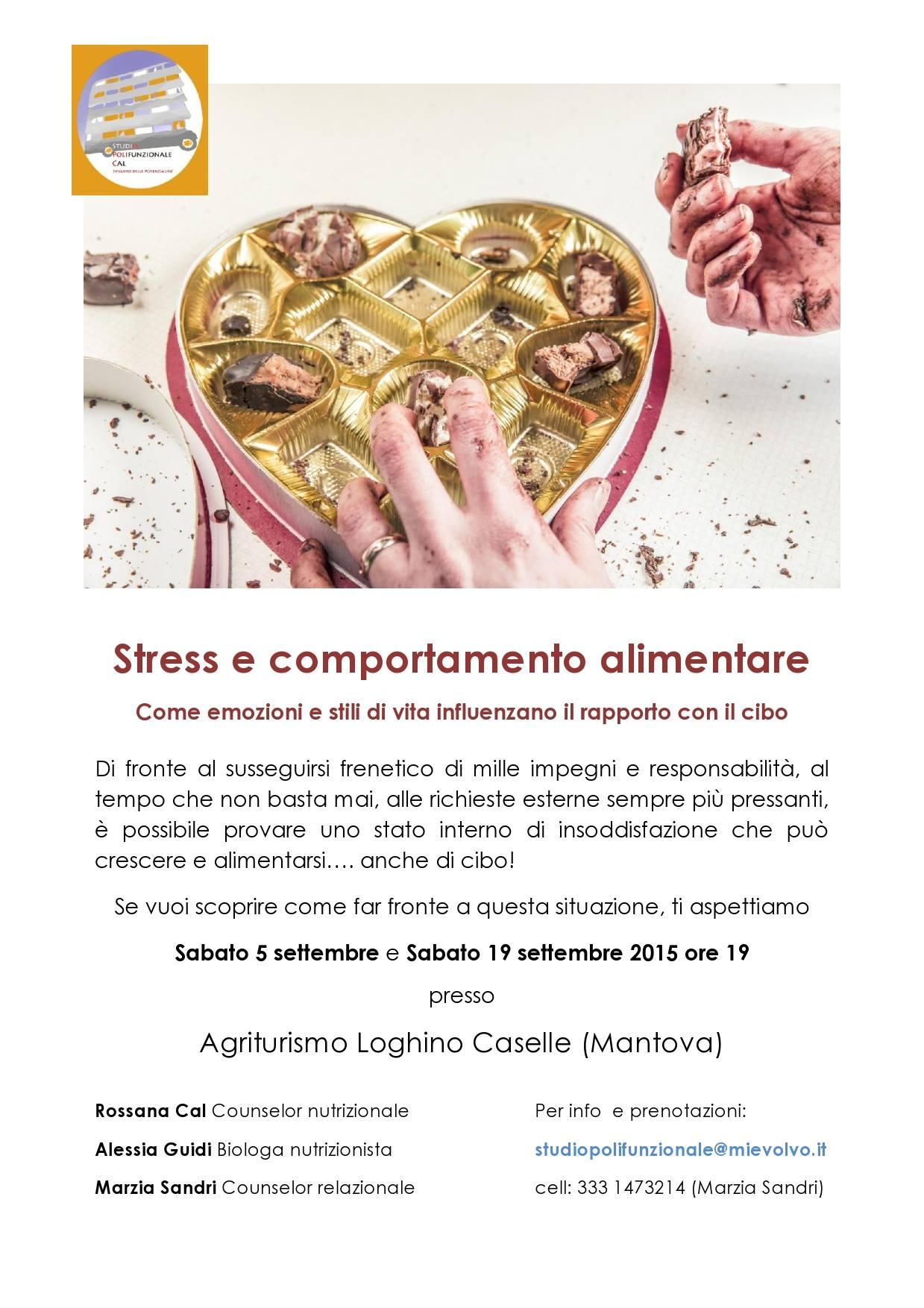 stress e comportamento alimentare