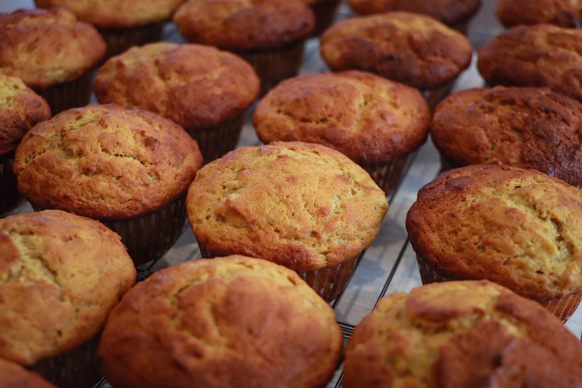 Muffins banane e cannella